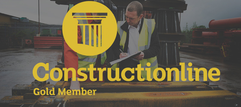 MGF Accredited Constructionline Gold Membership