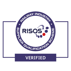Blue RISQS audit logo on white background