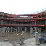 MGF red kit supporting large excavation onsite