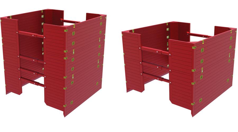 Animation of Manhole-Box-sizes
